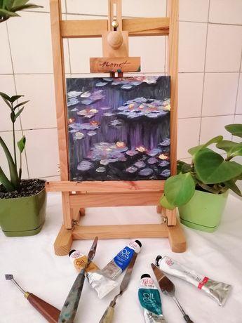 Картина маслом Кувшинки