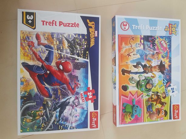 Puzzle Trefl 3+ Spiderman , Toy story