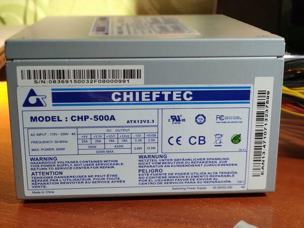 Блок питания Chieftec CHP-500A 500W