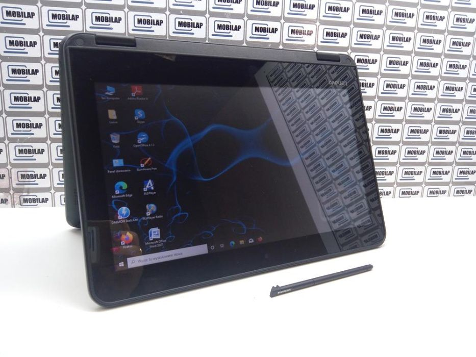 Laptop do NAUKI ZDALNEJ Lenovo N23 Dotyk 11,6' 4GB 128 SSD kamera FV