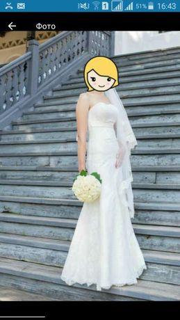 Красивое и счастливое свадебное платье!