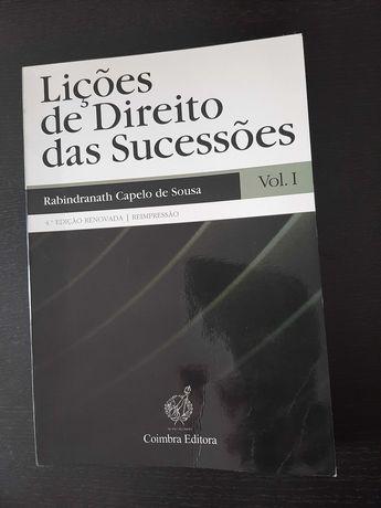 Livro Curso Direito - Lições Direito Sucessões (oferta portes)