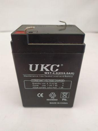 Аккумулятор на весы фонари 6V 4А Аккумулятор UKC