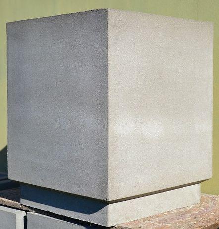 Donica betonowa, ciężka, solidna