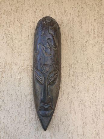 Drewniana maska afrykańska 50 cm Rzeszów Kraków Kielce