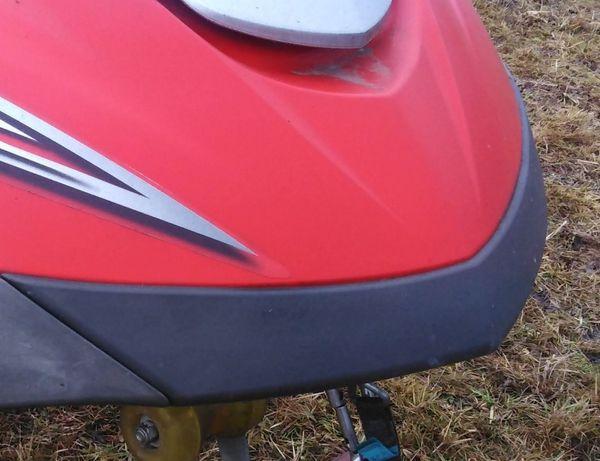 Dziobnica nosek bumper zderzak Yamaha 140 FX 160 skuter wodny części