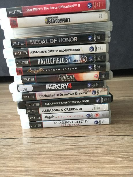 Zestaw 14 gier Play Station 3 PS3 - Same Hity