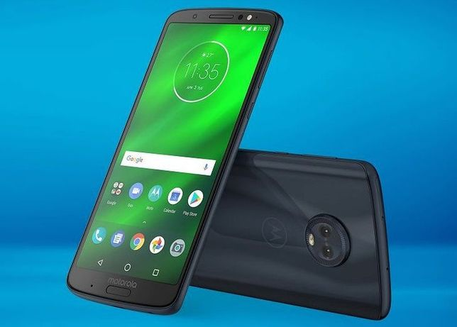 Motorola Moto G6 3/32GB Dual SIM niebieska nowa etui
