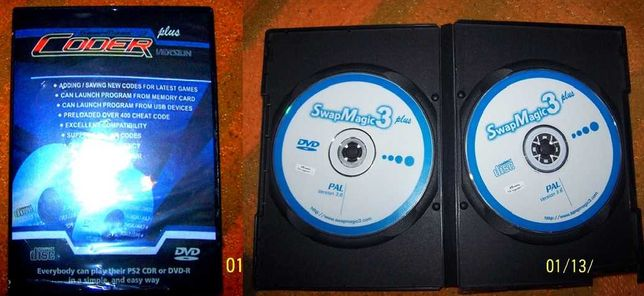 SwapMagic 3 Plus PS2 PlayStation 2 Unikat !
