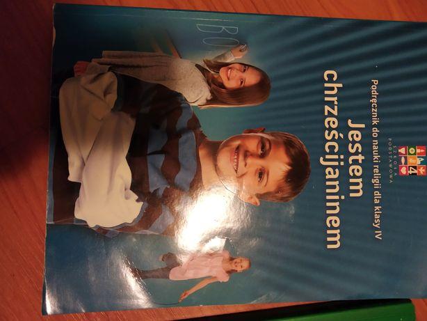 Książka do religii, dla klasy 4.