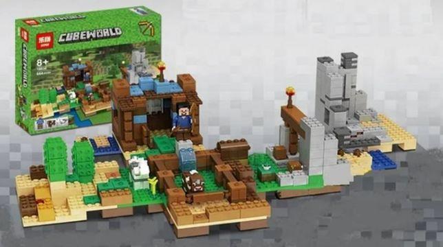 """Лего Minecraft 18030 """"Верстак 2.0"""" 664 дет.(аналог)"""