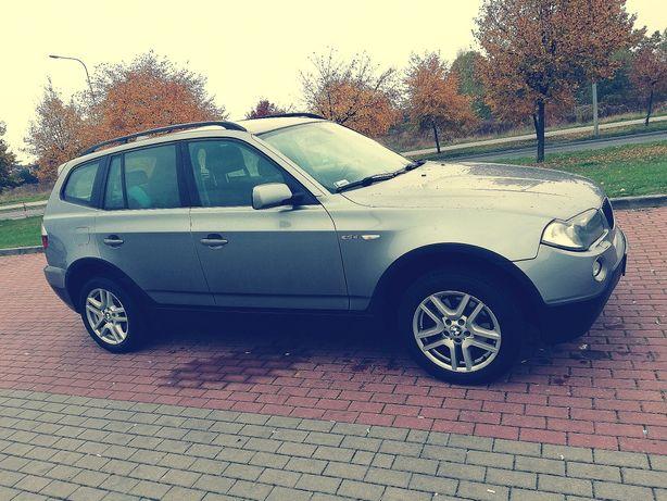 BMW x3 2.0 diesel 2007r. uszkodzony silnik , jeździ