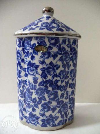 Caixa Oval alta Porcelana Portuguesa (Portes incluídos)