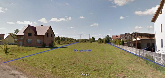 Atrakcyjna działka budowlano–usługowa,Łuków,7900 m2,możliwość podziału
