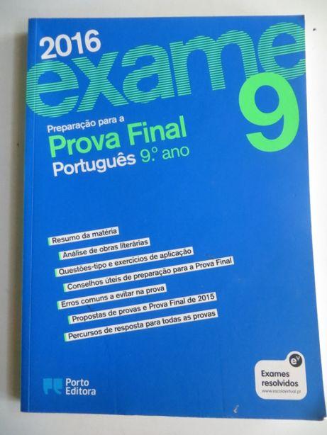 Preparação para a Prova Final de Português do 9º Ano - Porto Editora