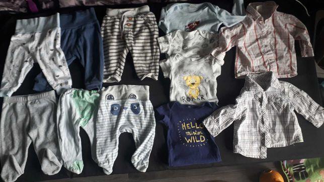 Paka ubrań dla chłopca/niemowlaka 3-6 miesięcy/ rozmiar 68-74