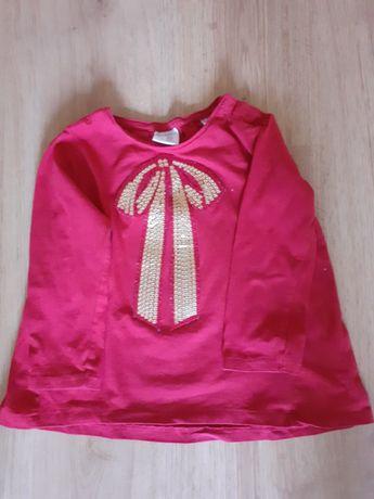 Bluzka Zara z kokardą
