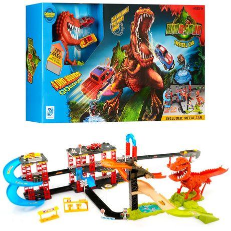 Детский автотрек Hot Wheels Динозавр 8899-93 аналог Хотвилс