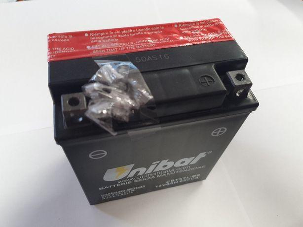 Akumulator Unibat AGM CBTX7L-BS YTX7L-BS ETX7L-BS 6Ah 85A 12V NOWY