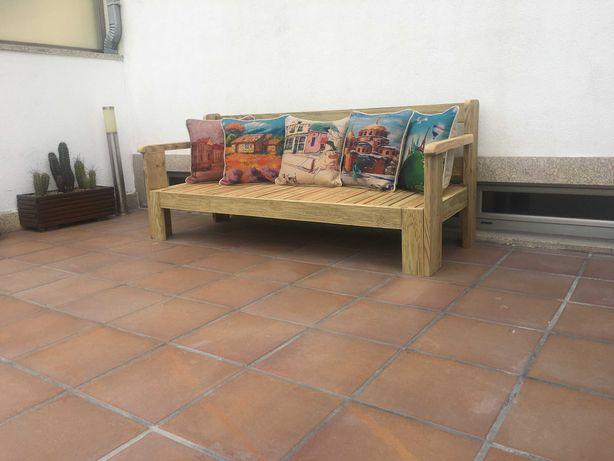 Banco  Chaise-long/ Sofá / Cama / Jardim Novo