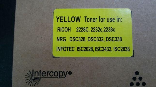 Toner Cartridge Intercopy (Yellow)