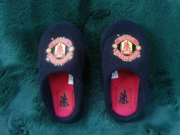 Pantofle Manchester United 35/37 kapcie wysyłka plika nożna