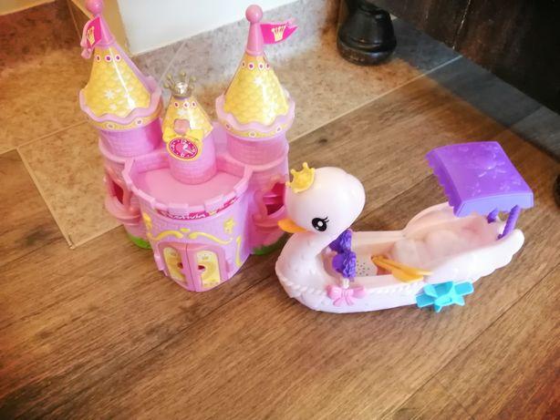 Zamek i łabędź dla dziewczynek