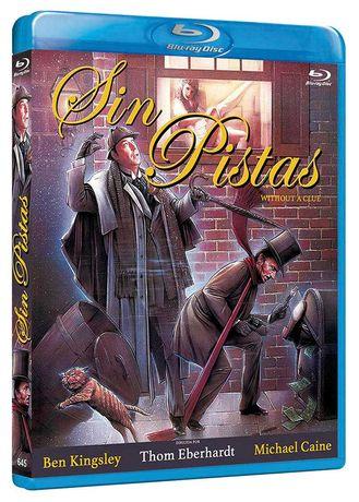 Sin Pistas/As Desventuras de Sherlock Holmes(Blu-Ray)-Importado