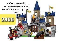 Лего дупло замок рыцари lego duplo 4864 castle