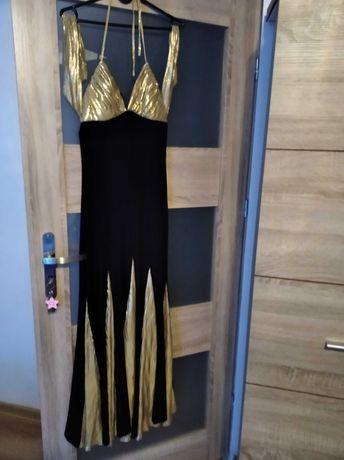Suknia długa bez pleców pretty woman suknia wieczorowa