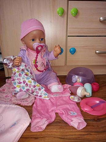 Lalka Baby Born z akcesoriami