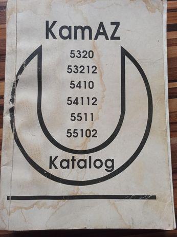 Instrukcja napraw książka Kamaz. Katalog części  jednostek montażowych