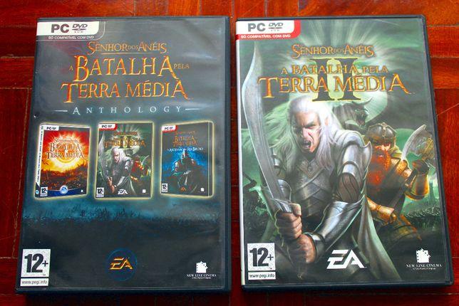 Antologia O Senhor dos Anéis + Batalha pela Terra Média - PC
