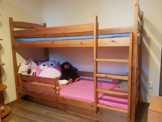 Łóżeczko dziecięce piętrowe