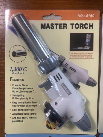 Master Torch 516 горелка газовая к баллон туристическая портативная