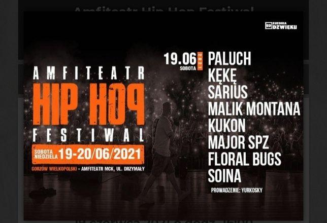 Bilety na koncert hip hop Gorzów wielkopolski 2 w cenie 1!!!