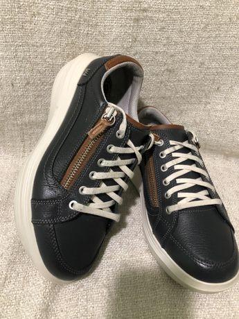Кожаные ортопедические мужские кроссовки ботинки Kybun 41р Kyboot