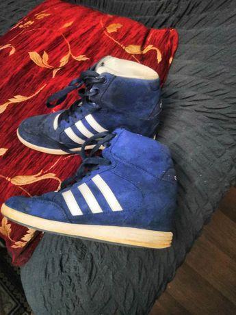 Adidas ботинки сникерсы