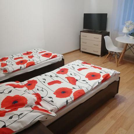 Pokój dla 2 osób lub 1, nowe, bez dodatkowych opłat, z Wi Fi