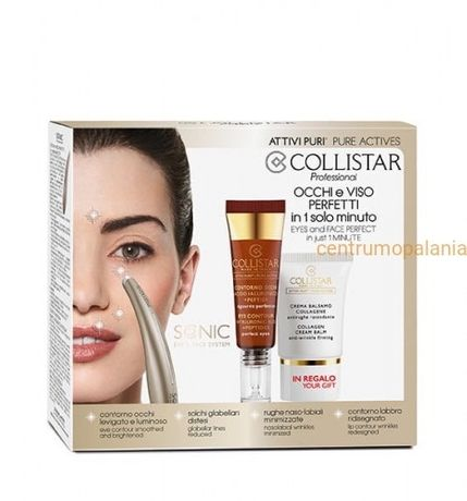 Zestaw Collistar Pure Actives Sonic eye&face system