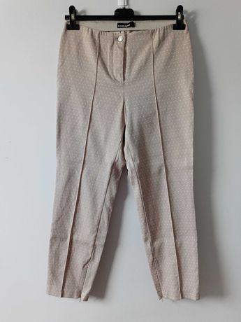 Beżowe spodnie chinosy Cambio M/38