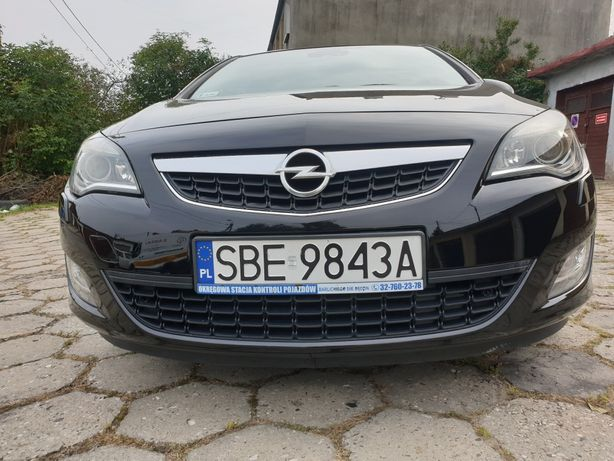 OPEL Astra J IV 2010r