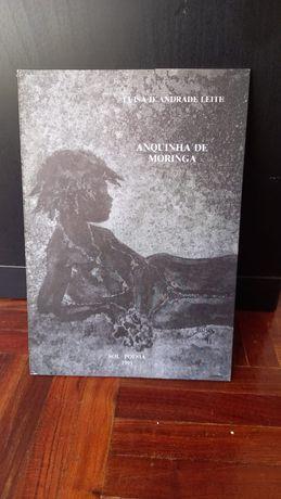 Livro Anquinha de Moringa, de Luísa d'andrade Leite