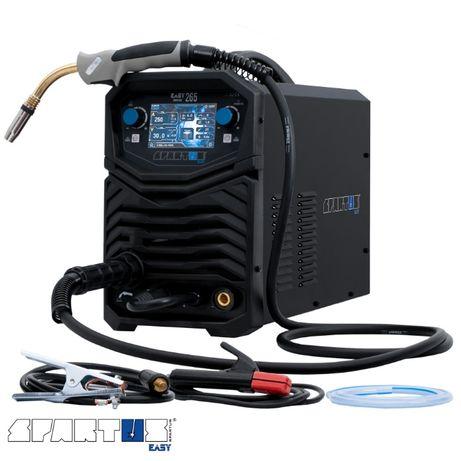 Spawarka Spartus Easy Mig 265 migomat 250 A TIG Technaz 400 V FV23%