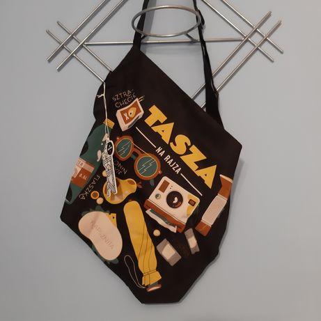 Tasza na rajza (torba z materiału) Gryfnie