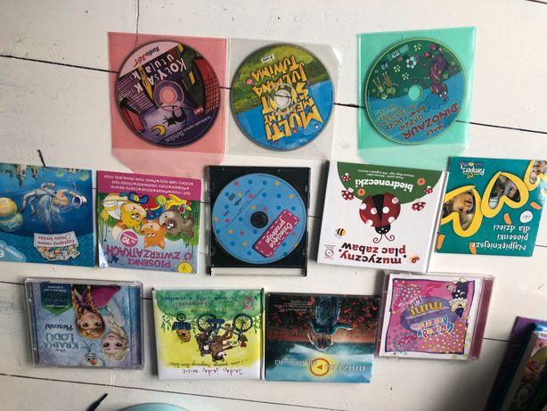 Płyty z piosenkami dla dzieci i inne