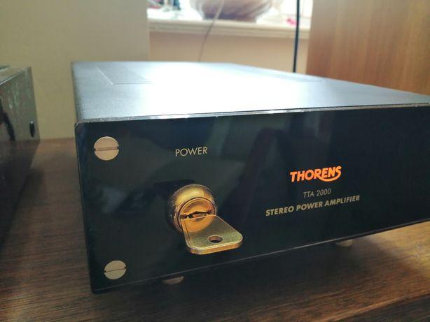 Thorens tta 2000 klasa A końcówka mocy Hi End