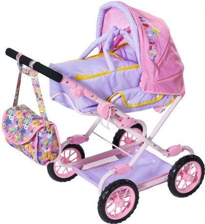 Коляска для куклы Baby Born Делюкс S2 складная, с сумкой 828649