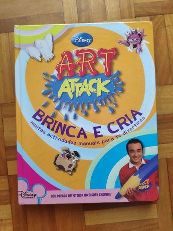 Art Attack:255 pág de ideia para trabalhos manuais c/ crianças