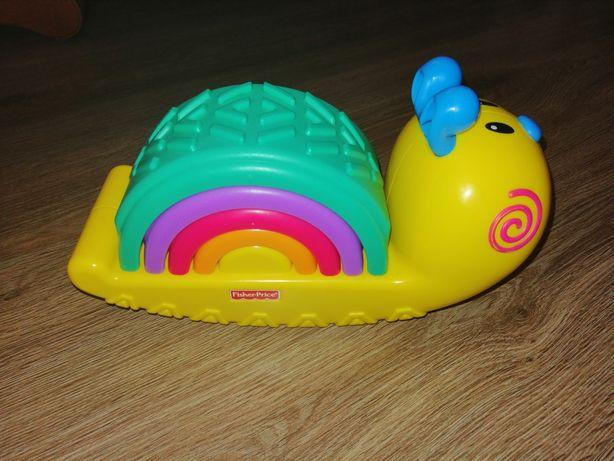 Zabawka Fisher price tęczowy ślimak
